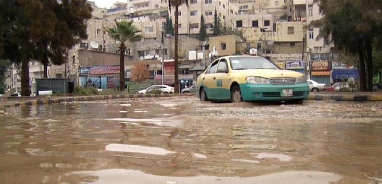 سيول غزيرة في الأردن توقع 3 قتلى