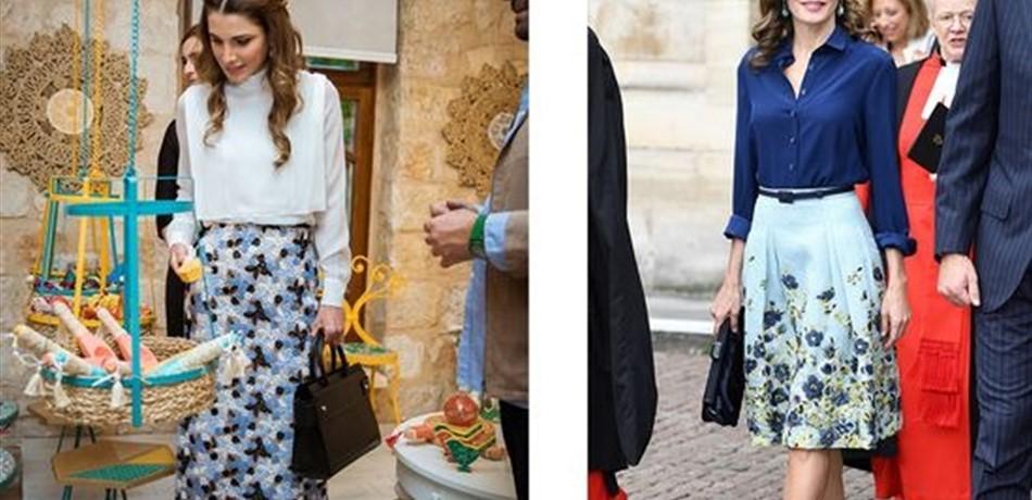 cd3a2db12e0cd هل تستوحي الملكة رانيا إطلالاتها من ملكة أخرى؟