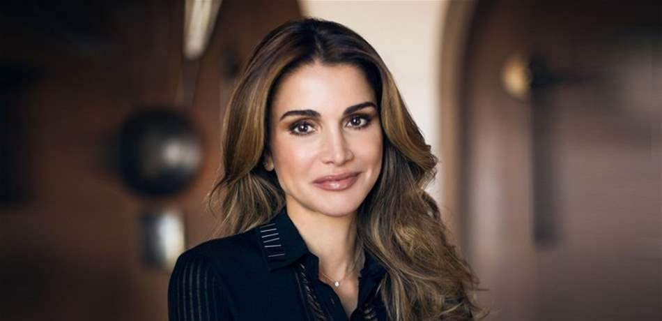 7f91abcc6e082 اطلالات الملكة رانيا الكلاسيكية تلفت الأنظار