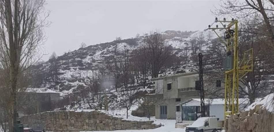 0c292ad2f60b5 الثلوج تحتجز مواطنين في ضهر البيدر.. وعمليات إنقاذ في مناطق عدّة ...