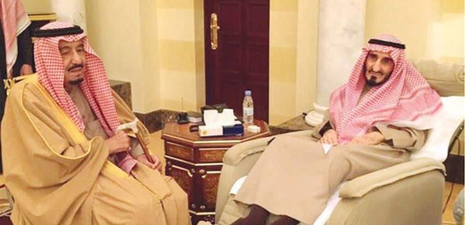 وفاة الامير بندر بن عبد العزيز شقيق الملك سلمان