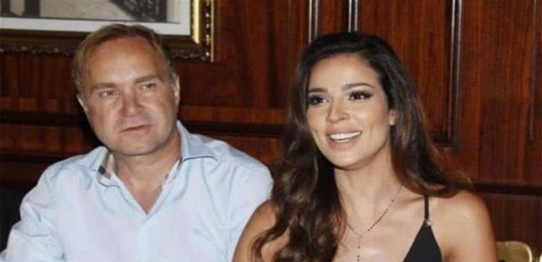 بعد طلاقها تفاصيل اللقاء الأول بين نادين نسيب نجيم وزوجها أعطته رقمها بسرعة