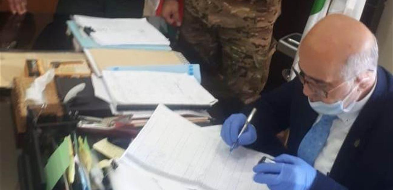 الجيش بدأ دفع المساعدات المالية لمصابي الألغام في طرابلس