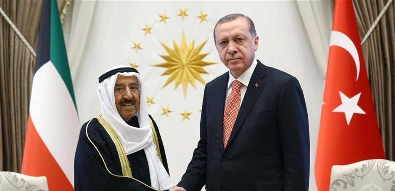 كورونا والعلاقات الثنائية بين اردوغان وأمير الكويت