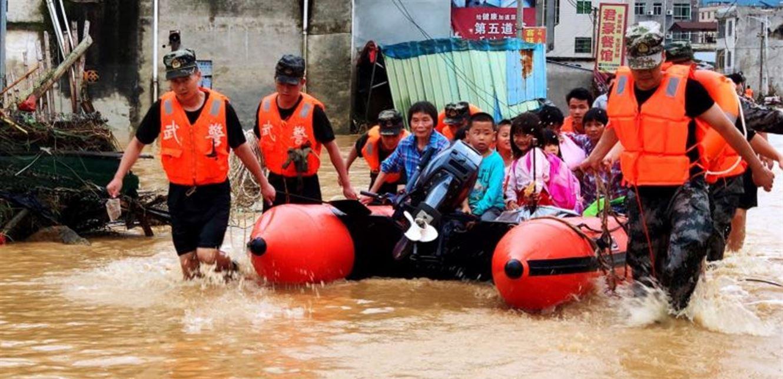 أمطار غزيرة تودي بحياة 12 شخصاً في الصين