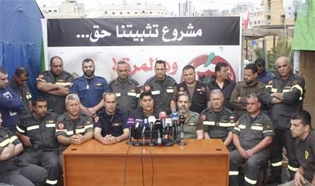 75ccb37a4dc5f متطوعو الدفاع المدني في الخيام وجديدة مرجعيون امتنعوا عن تلبية نداء اطفاء  الحرائق