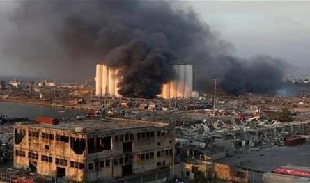 البحث مستمرّ عن المفقودين في اهراءات مرفأ بيروت (فيديو)
