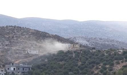 فيديو يظهر لحظة تفجير الحزام الناسف للارهابي عمر بريص