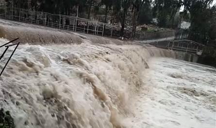 بسبب العاصفة سيول وفيضانات في حاصبيا والأضرار مادية