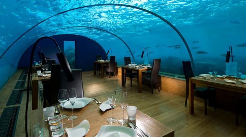 نتيجة بحث الصور عن أول سكن فندقي تحت الماء في  جزر المالديف